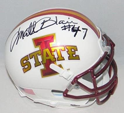 Iowa State Cyclones Schutt White Mini Football Helmet College Mini Helmets