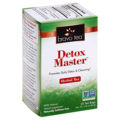 Bravo Teas Detox Master, 20 Tea - Health Detoxer King Tea