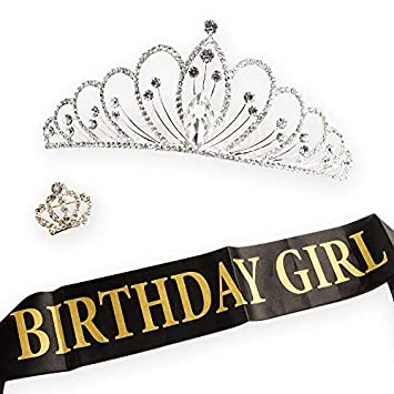 Amazon.com: AMAZECO – Broche de corona y corona para ...