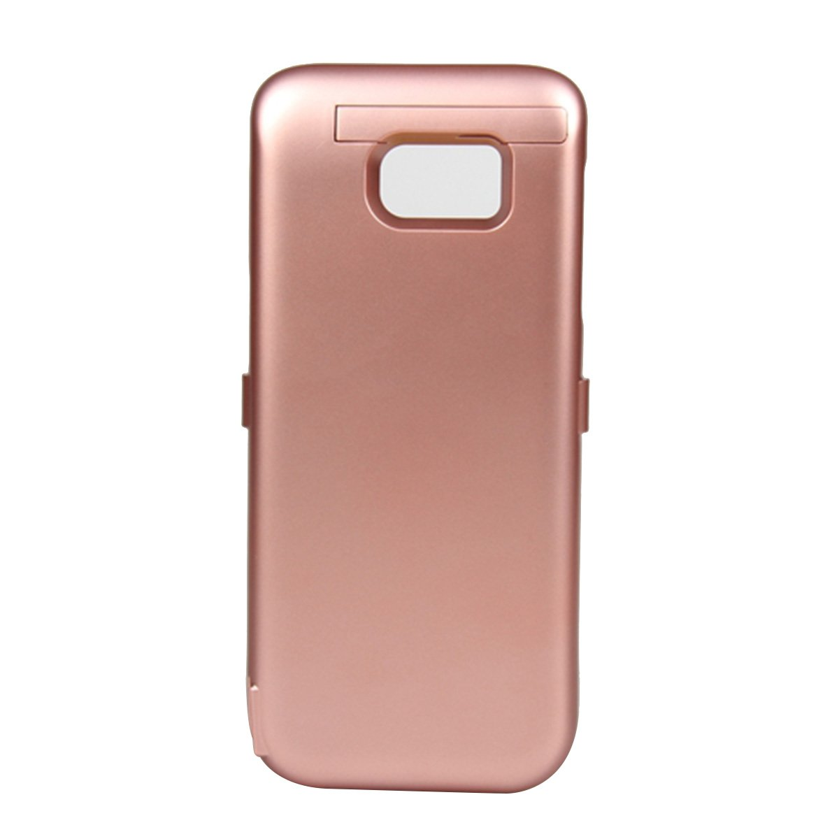 AICEDA Samsung Galaxy S7 Edge 6800mAh Battery Case, Rechargeable External Battery Portable Power Charger Protective Charging Case Replacement for Samsung Galaxy S7 Edge 6800mAh (Rose Gold)