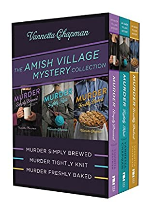 book cover of The Amish Village Mystery Collection