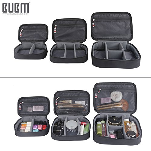 Travel Electronics Organizer Bag - BUBM Portable 3 pcs/Set Gadget Carrying Storage Bag,Cable Organizer Cases for USB Cables, Hard Drive,Memory Card,Power Bank,External Flash,2 Year Warranty by BUBM (Image #2)