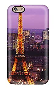 Premium Iphone Eiffel Tower Case For Iphone 6 Eco Friendly Packaging