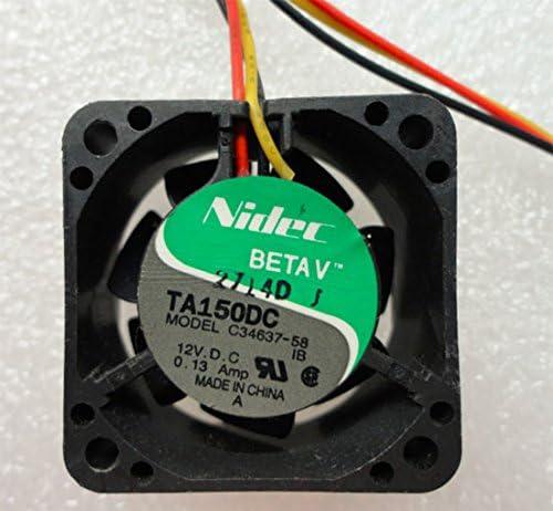 4cm computer fan case cooler Nidec TA150DC C34637-58 40mm 4020 IBM E SERVER XSERIES 300 867281X COOLING FAN