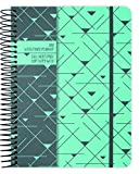 Geo Triangles 2018 Weekly Note Planner by