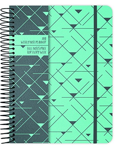 Geo Triangles 2018 Weekly Note Planner by Trends International