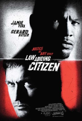 Law Abiding Citizen POSTER Movie (27 x 40 Inches - 69cm x 102cm) (2009) (Style C) (Jamie Foxx And Gerard Butler Law Abiding Citizen)