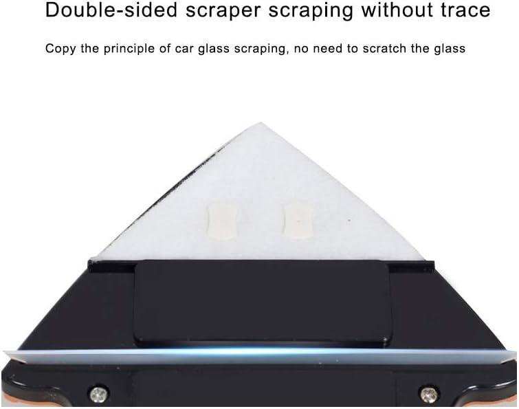Limpiador de ventanas magnético de doble cara, herramienta de limpieza magnética con mango ergonómico para la limpieza de puertas de cristal HXC 3-8mm: Amazon.es: Hogar
