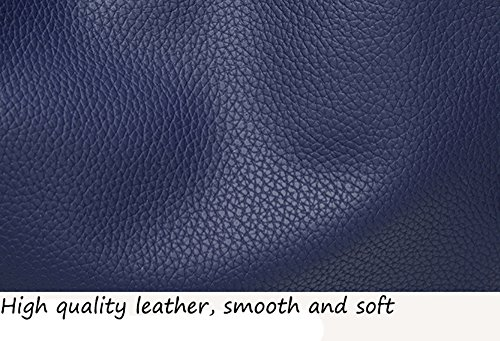 Porté Large Capacité Sac PU Noir Filles cuir Bandoulière Epaule Main pour Femmes à WOMJIA Bf08xqw8