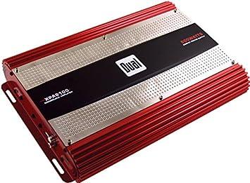 Dual XPA6100 1.0 Coche Alámbrico Rojo - Amplificador de audio (1.0 canales, 600 W