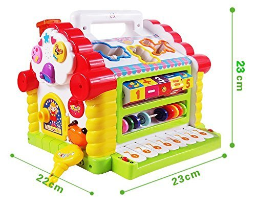 Buy Goappugo Learning House Baby Birthday Activity Play Centre Gift