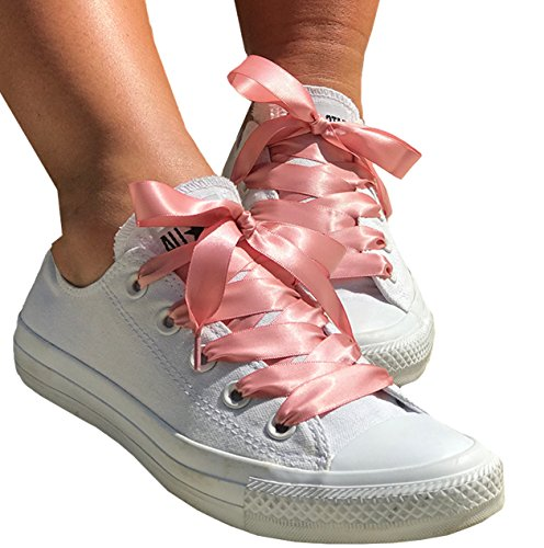 Gold Cordones Laces Pimp my Rose zapatos mujer shoes Ribbon de My by Blush wAqR6xP6f