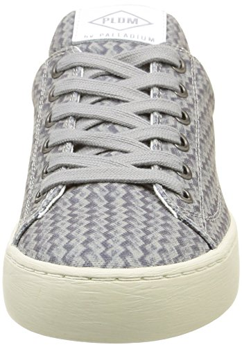 PalladiumGanama Print - Zapatillas Mujer, Gris (Gris (D59 Light Grey/Braided)), 36