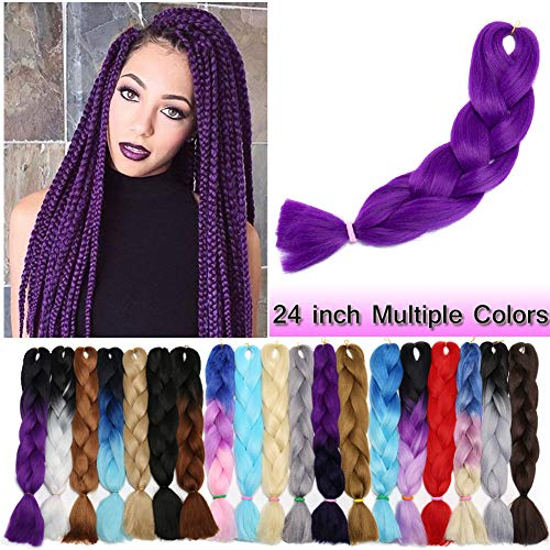 Braiding Crochet Extensions Resistance Synthetic product image