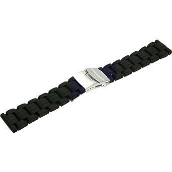 515b4dd440 [モレラート]Morellato ISEO イゼーオ 時計ベルト 22mm ブラック ラバー時計ベルト U3607 187 019