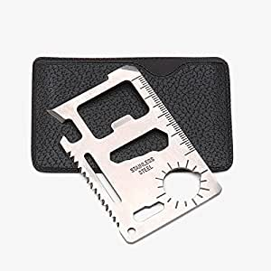 11 in 1 Survival Credit Card Multi Tools