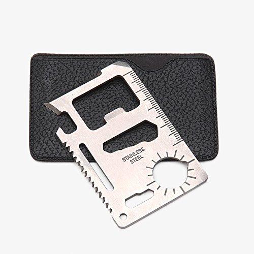 Stainless Steel Pocket Folding Lock Pick (Silver) - 3