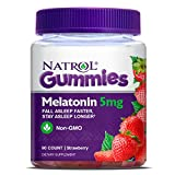#9: Natrol Melatonin 5Mg Gummy, 90 Count
