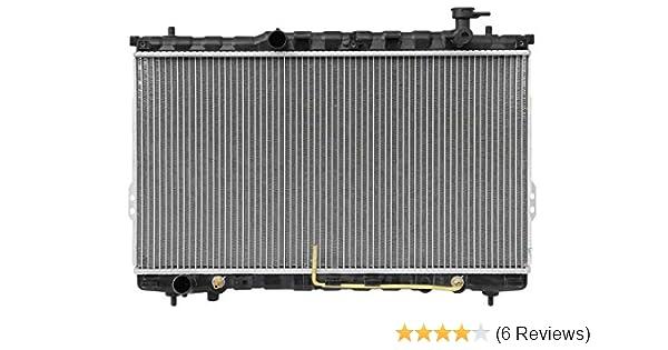 Radiator For 2001-2006 Hyundai Santa Fe 4CYL V6 2.4L 2.7L 3.5L Free Shipping