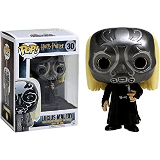 FunKo Figurine Pop ! Harry Potter 30 - Lucius Malfoy (Masque mangemort)