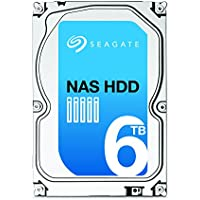 SEAGATE NAS HDD 6TB SATA 6Gb/s NCQ 128 MB Cache Bare Drive with +Rescue Data Recovery Services (ST6000VN0031)