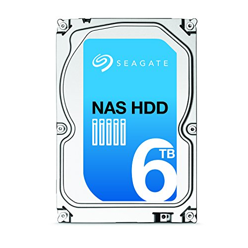 SEAGATE NAS HDD 6TB SATA 6Gb/s NCQ 128 MB Cache Bare Drive with +Rescue Data Recovery Services (ST6000VN0031) by Seagate (Image #2)