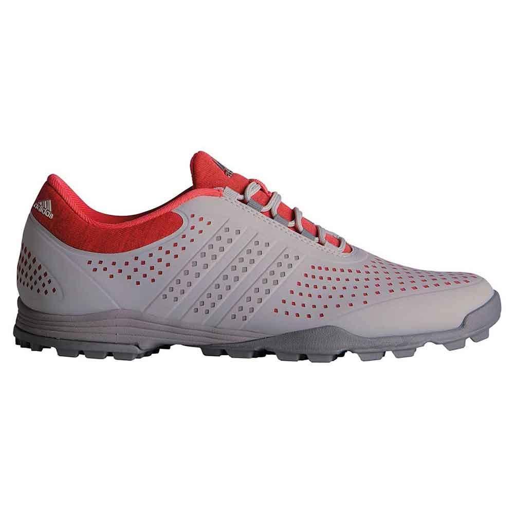 adidas Golf Women's Adipure Sport Core Pink/Grey/Dark Silver Metallic 5 B US