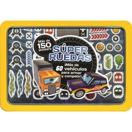 SUPER RUEDAS (Spanish Edition) (Spanish) Paperback – June 14, 2014