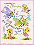 Suzy's Zoo Magical Wishes Suzy Ducken Iridescent Sticker 6 inches 4.5 inches