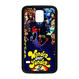 Classic Animated Film Series&Wander Over Yonder Case Cover for SamSung Galaxy S5- Personalized Hard Cell Phone Back Protective Case Shell-Perfect as gift