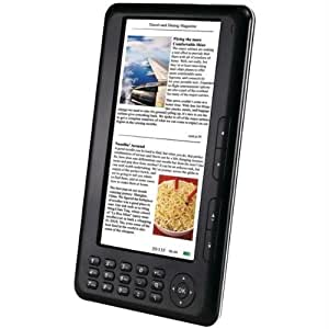 "SKYTEX Primer 7"" Color E-reader and Media Player"