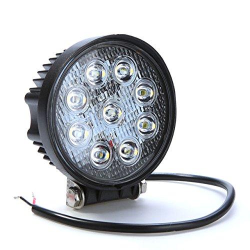 9D Focus Flood LED Lamp- Black (E027WCRRND)