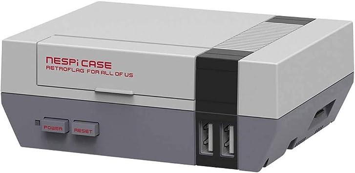 No Name (foreign brand) Raspberry Pi® Caja Gris RPI-NES-Case Raspberry Pi® 2 B, Raspberry Pi® 3 B, Raspberry Pi® 3 B: Amazon.es: Electrónica