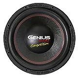 "Genius N10-15D4 15"" 3000 Watts-Max Nitro Competition Dual 4-Ohms Car Audio Subwoofer"