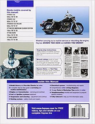 free online repair manual honda shadow