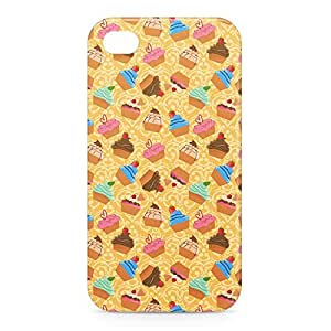 Bakery iPhone 4s 3D wrap around Case - Yellow
