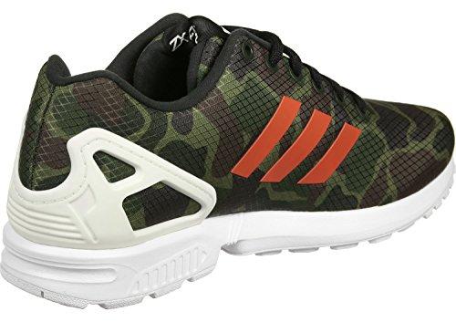 Adidas Zx Flux Sko Tarnfarbend / Hvid Zi44mYO