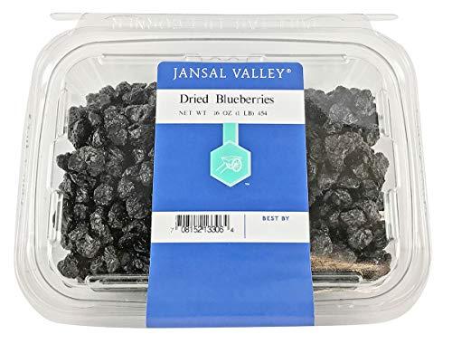 Jansal Valley Dried Blueberries, 1 Pound