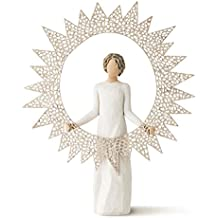 Willow Tree 12-Inch Resin and Metal Starlight Tree Topper
