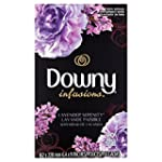 Downy Infusions Lavender Serenity Fabric Softener Dryer Sheets 90 sheets