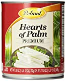 Roland Hearts of Palm, Premium, 28 Ounce (Pack of 3)