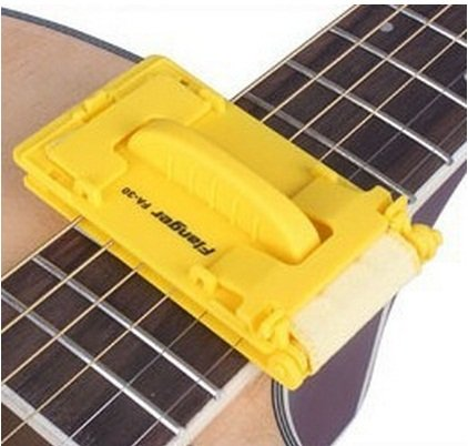 Guitar Bass Quick-set Cleaner String Clean Too Yellow