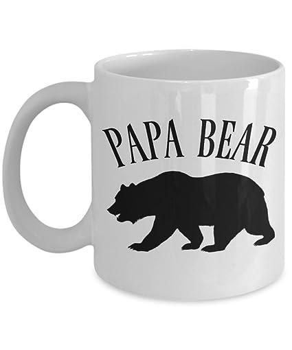 2b2bc4dabb Amazon.com  Papa Bear Mug - Papa Bear Coffee Mug Gift For The Man In ...