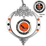 Final Touch Gifts Baltimore Orioles Christmas Ornament