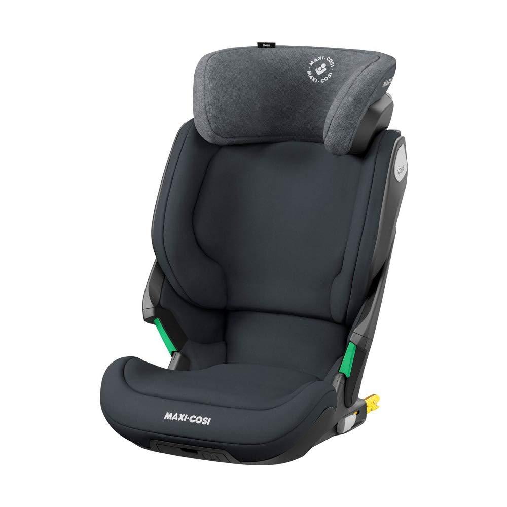 Maxi-Cosi Kore i-Size Kindersitz mitwachsender Gruppe 2//3 Autositz mit ISOFIX 5 Jahre bis ca 12 Jahre Seitenaufprallschutz 15-36 kg schwarz 3 ab ca authentic black Kinderautositz mit max