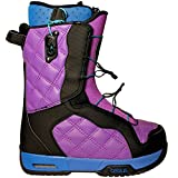 Celsius Cosmo O.Zone Speed Laces Womens Snowboard Boots - Purple 8.0