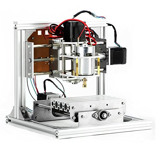 CNC Router Machine, 3 Axis DIY CNC Engraving Machine PCB Milling Machine...