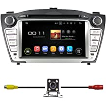 """BlueLotus 7"""" Android 5.1 Quad Core Car DVD GPS Navigation for Hyundai TUCSON 2009 2010 2011 2012 2013 2014 2015 w/ Radio+RDS+Bluetooth+WIFI+SWC+AUX In +Free Backup Camera + US Map"""