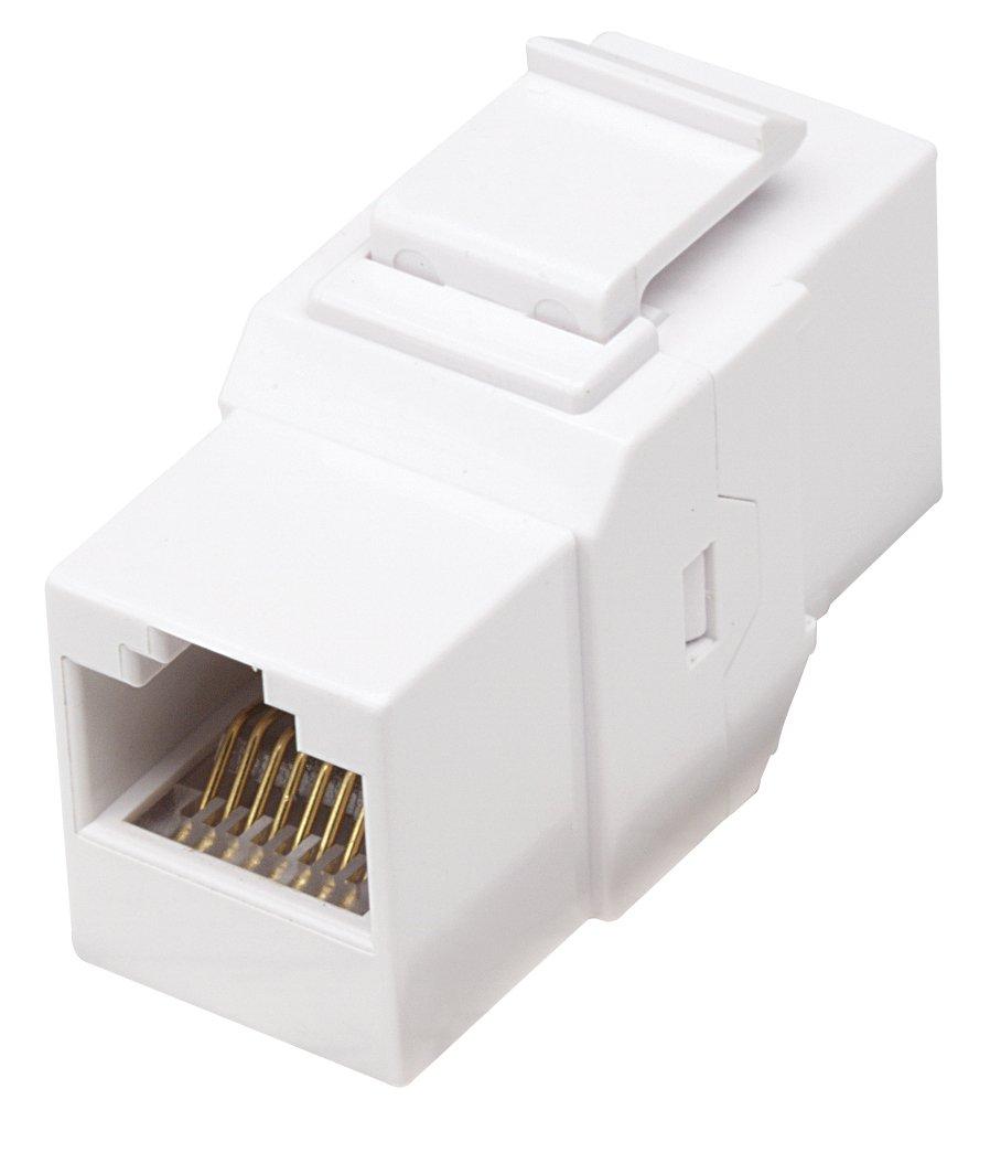 Intellinet Rj45 Female To Utp Cat6 Keystone Wiring Jack Coupler White Computers Accessories