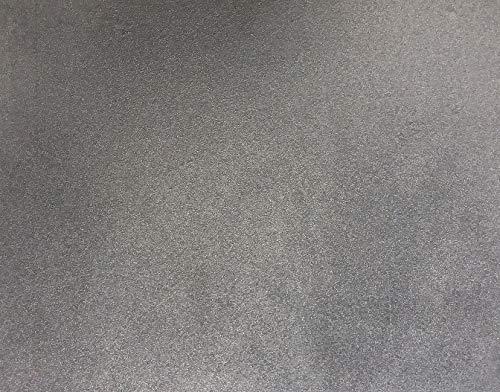 Piana in ghisa per camino, lastra in ghisa naturale per barbecue, fondale, piastra in ghisa per rivestimento camino (Ghisa, cm 50x50) Fonderia Bongiovanni srl